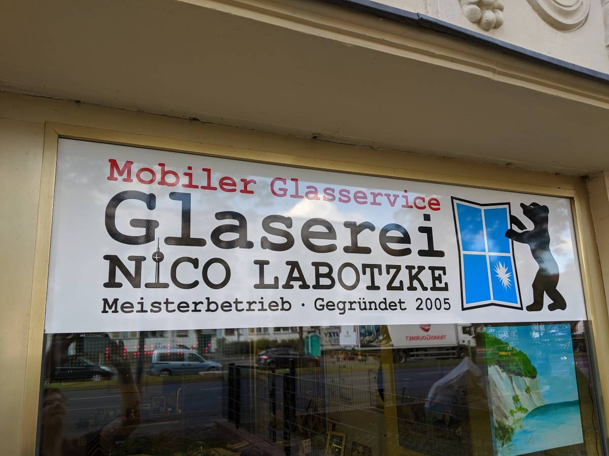 Glaserei Berlin Nico Labotzke